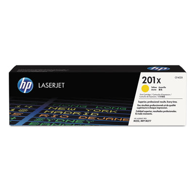 Hp 201x, (cf402x) High Yield Yellow Original Laserjet Toner Cartridge