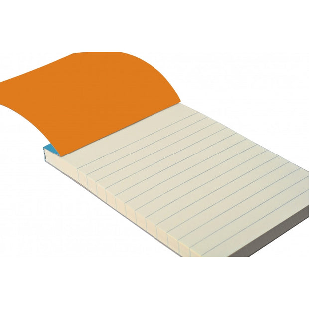 Rhodia ColoR Pads, Raspberry Cover, Ruled Pages, 3 3/8 x 4 3/4