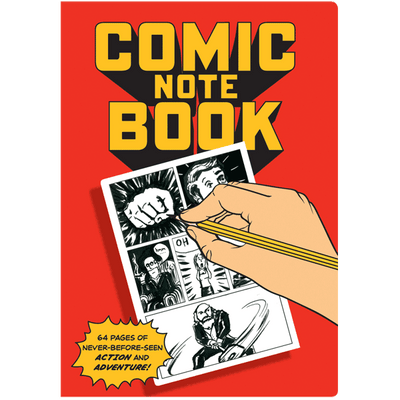 COMIC BOOK NOTEBOOK