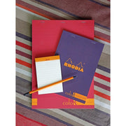 Rhodia ColoR Pads, Turquoise Cover, Ruled Pages, 6 x 8 1/4