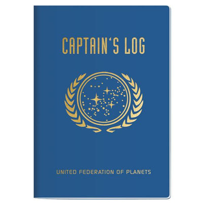 Star Trek Captain's Log Notebook