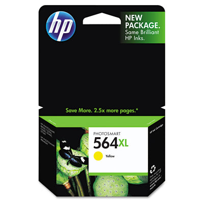 Hp 564xl, (cb325wn) High Yield Yellow Original Ink Cartridge