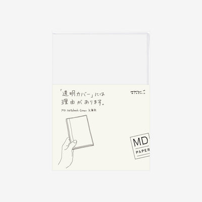 Midori MD Notebook Clear Cover - A6