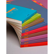 Rhodia ColoR Pads, Turquoise Cover, Ruled Pages, 3 3/8 x 4 3/4
