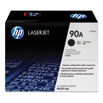 Hp 90a, (ce390a) Black Original Laserjet Toner Cartridge