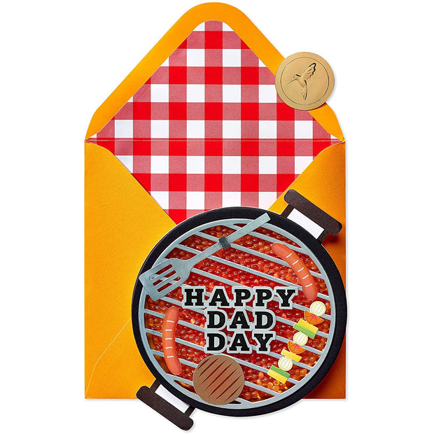 Grill Father's Day Greeting Card
