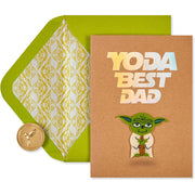 Yoda Father's Day Greeting Card