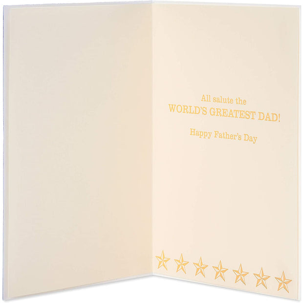 Dad-In-Chief Father's Day Greeting Card