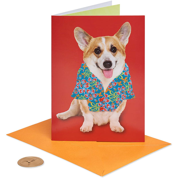 Corgi Father's Day Greeting Card