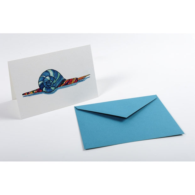 Straight-Edge Fold Over Card - Nib Holder