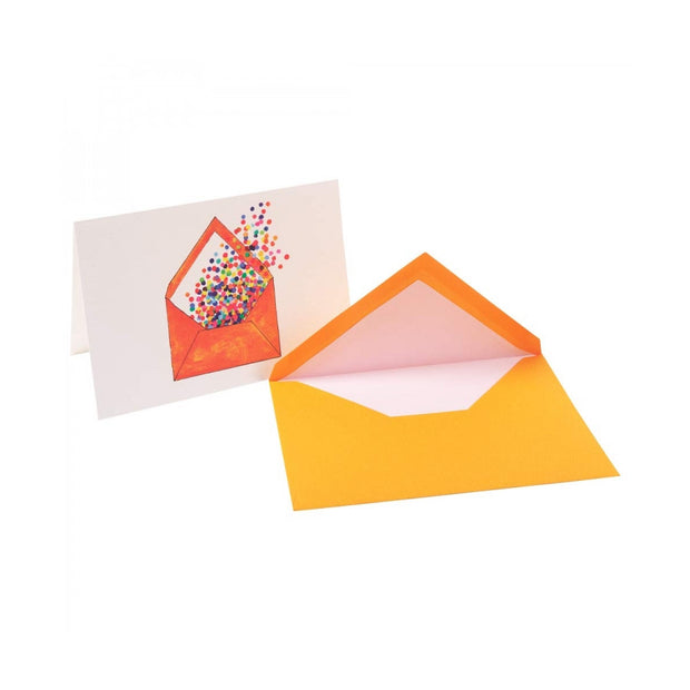 Straight-Edge Fold Over Card - Envelope