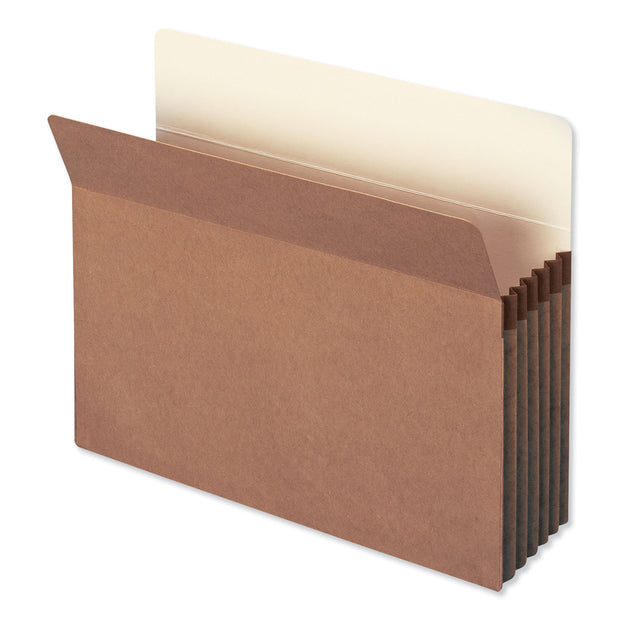 "REDROPE DROP FRONT FILE POCKETS, 5.25"" EXPANSION, LETTER SIZE, REDROPE, 50/BOX"