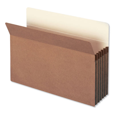 "REDROPE DROP FRONT FILE POCKETS, 5.25"" EXPANSION, LEGAL SIZE, REDROPE, 10/BOX"