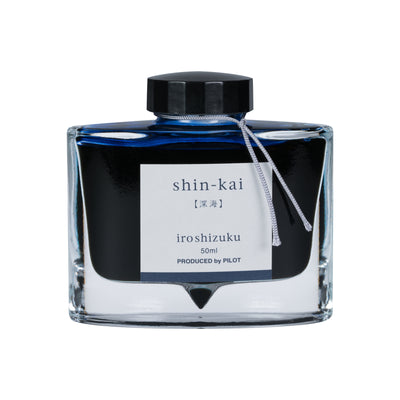 Pilot Iroshizuku Shin-Kai 50ml Bottled Ink
