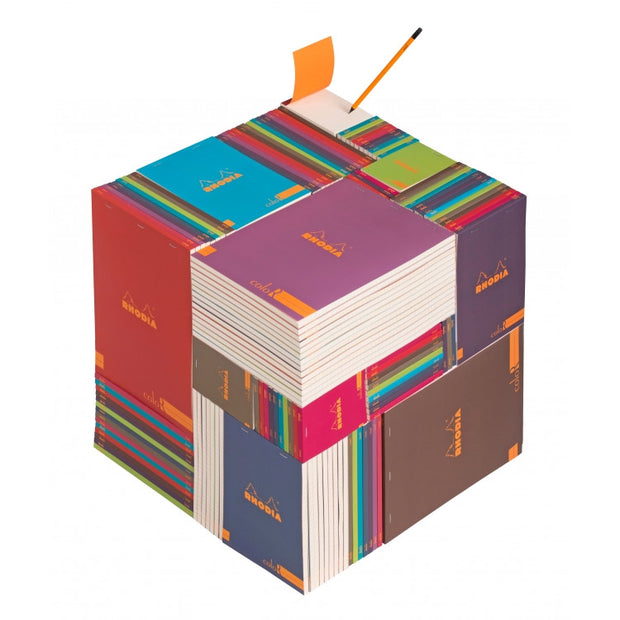 Rhodia ColoR Pads, Sapphire Cover, Ruled Pages, 8 1/4 x 11 3/4