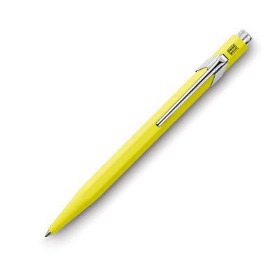 Caran d'Ache 849 Metal Ballpoint Pen - FLU Yellow