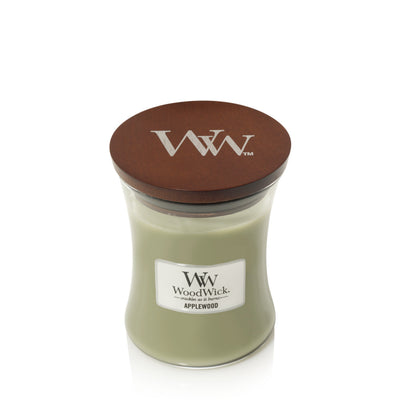 WoodWick Medium Hourglass Candle - Applewood