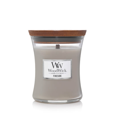 WoodWick Medium Hourglass Candle - Fireside