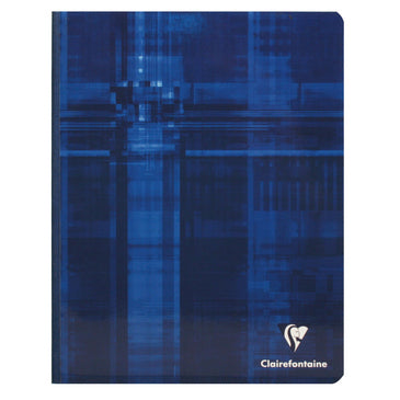 Clairefontaine Clothbound Notebook - Ruled 96 sheets - 6 1/2 x 8 1/4 - Assorted