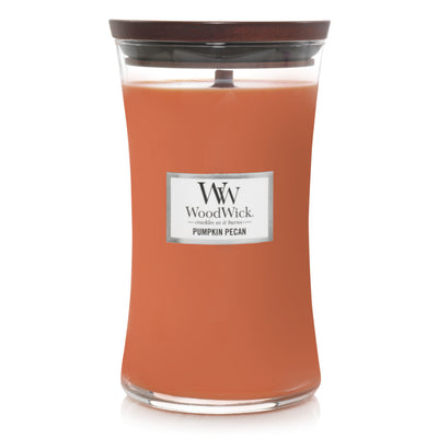 WoodWick Large Hourglass Candle - Pumpkin Pecan