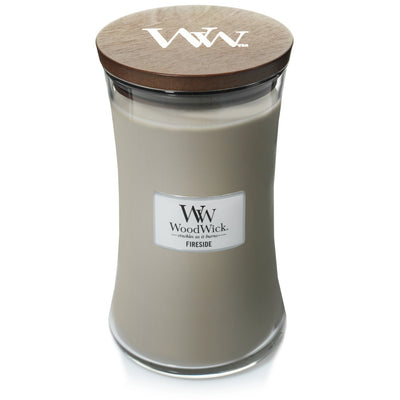 WoodWick Large Hourglass Candle - Fireside