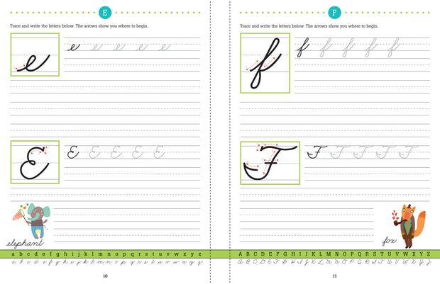 HANDWRITING: LEARN CURSIVE!