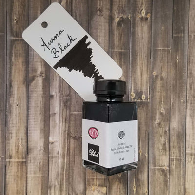 Aurora 45ml Bottled Ink - Black