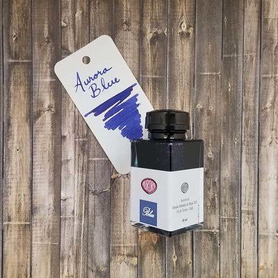 Aurora 45ml Bottled Ink - Blue