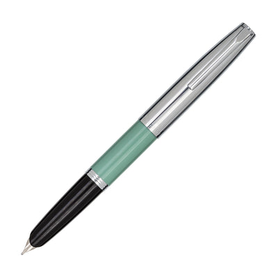 Aurora Duo Cart Fountain Pen - Green