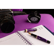 Aurora Optima Auroloide Fountain Pen - Viola
