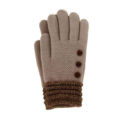 Britt's Knits Classic Gloves - Taupe