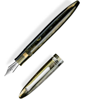 Tibaldi Bononia Fountain Pen - Martini Olive