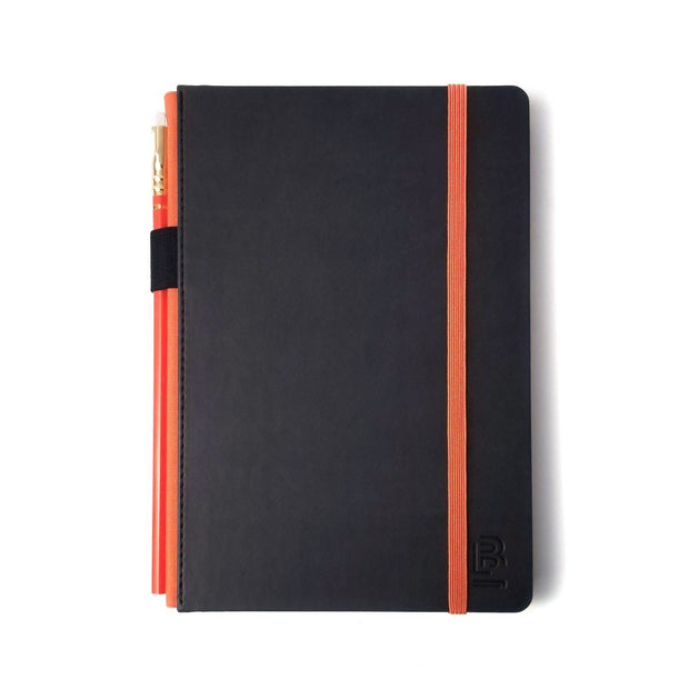 Blackwing Medium Slate Notebook - Palomino Orange - Dot