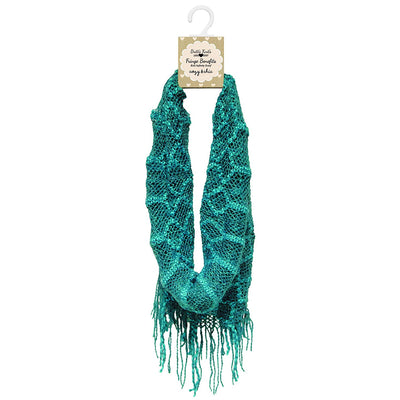 Britt's Knits Infinity Scarf - Teal