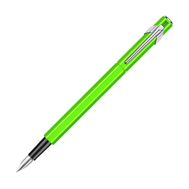 Caran d'Ache 849 Fountain Pen - FLU Green