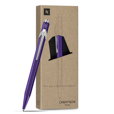 Caran d'Ache Nespresso 849 Ballpoint Pen - Purple (Limited Edition)