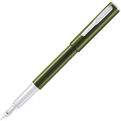 Conklin Coronet Fountain Pen - Olive