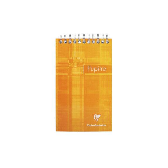 Clairefontaine Wirebound Notepad - Ruled 80 sheets - 4 1/4 x 6 3/4 - Assorted