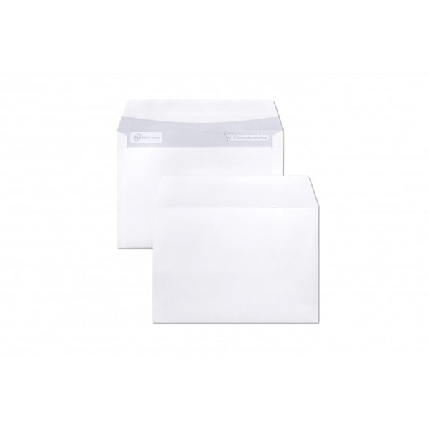 "Clairefontaine 25 Envelopes ""Triomphe"" Stationery - 4 1/2 x 6 3/8 Extra White Paper"