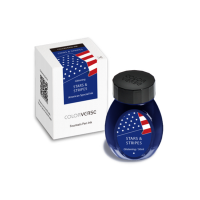 Colorverse Stars and Stripes (Glistening) - 30ml Bottled Ink