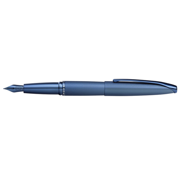 Cross ATX Fountain Pen - Sandblasted Dark Blue