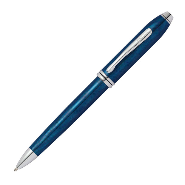 Cross Townsend Ballpoint Pen - Quartz Blue