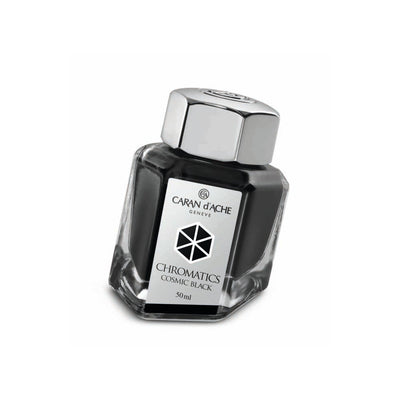 Caran d'Ache Chromatic - Cosmic Black - 50ml Bottled Ink