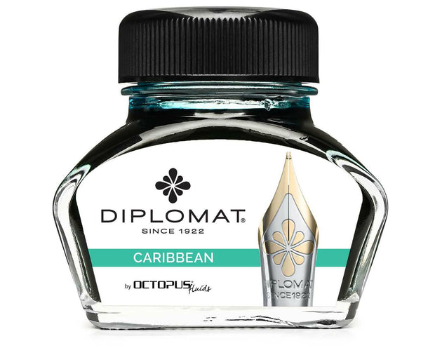Diplomat 30ml Bottled Ink - Caribbean