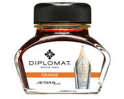 Diplomat 30ml Bottled Ink - Orange