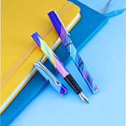 Diplomat Esteem Fountain Pen - MadC Blue