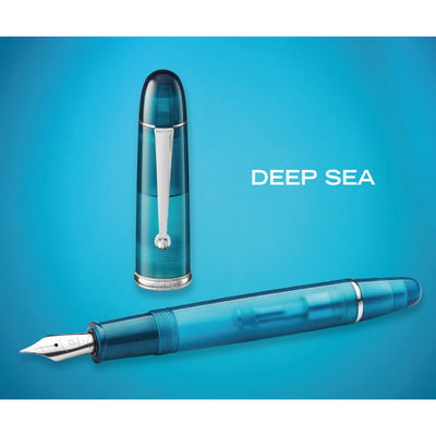 Penlux Masterpiece Grande Fountain Pen - Deep Sea