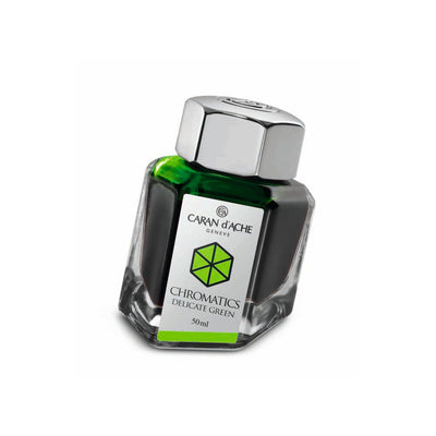 Caran d'Ache Chromatic - Delicate Green - 50ml Bottled Ink