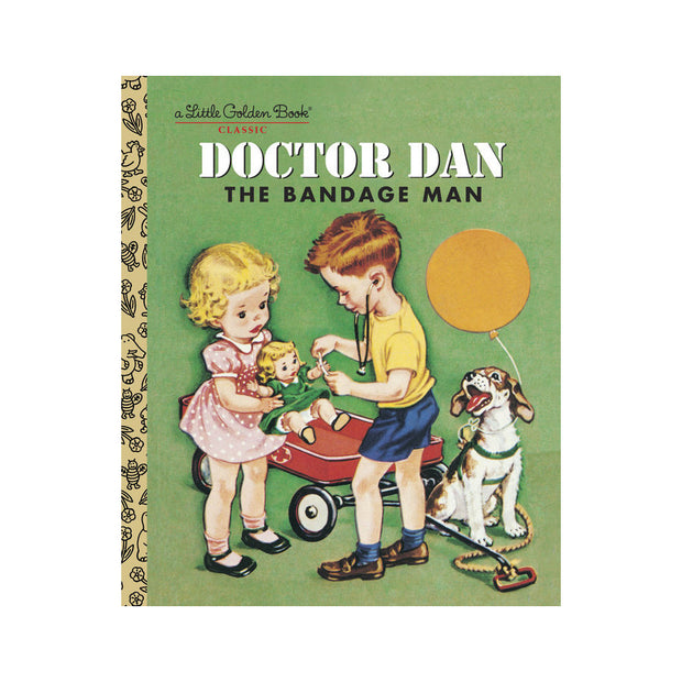 Little Golden Book - Doctor Dan The Bandage Man