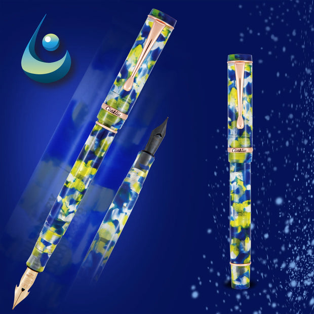 Conklin Duraflex Fountain Pen -  Water (Limited Edition)